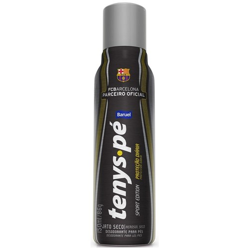 Desodorante Antisséptico Tenys Pé Baruel Jato Seco Barcelona