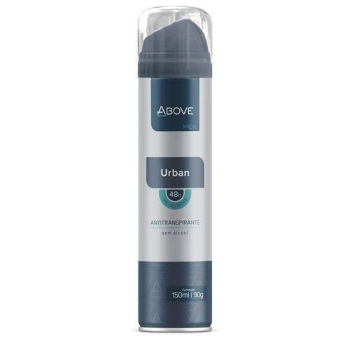 Desodorante Antitranspirante Above Men Urban 150ml com 01