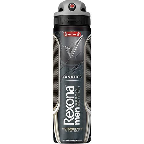 Desodorante Antitranspirante Aerosol Rexona Men Fanatics Special Edition 150ml