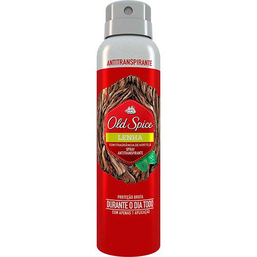 Desodorante Antitranspirante Old Spice Lenha - 150ml