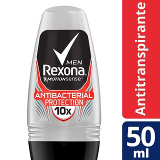 Desodorante Antitranspirante Rollon Rexona Men Antibacteriano 50ml