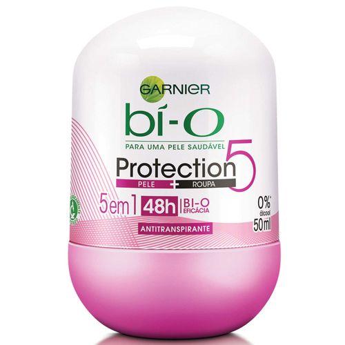 Desodorante Bí-O Roll On Protection 5 Feminino 50ml