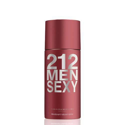 Desodorante Carolina Herrera 212 Sexy Men Masculino 150ML