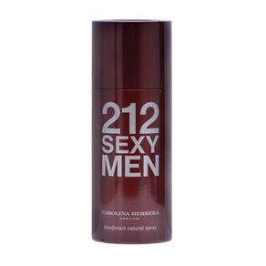 Desodorante Carolina Herrera 212 Sexy Men Spray 150g