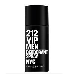 Desodorante Carolina Herrera 212 Vip Men Spray 150g