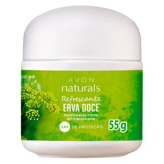 Desodorante Creme Naturals Erva Doce - 55 G
