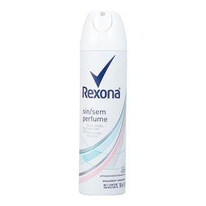 Desodorante Feminino Aerosol Sem Perfume Rexona 90g