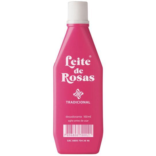 Desodorante Leite de Rosas Médio 100ml