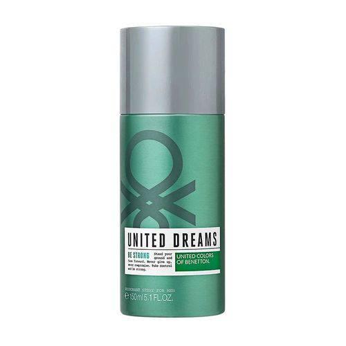 Desodorante Masculino Benetton United Dreams Be Strong 150ml