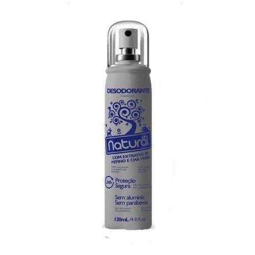 Desodorante Natural com Extratos de Pepino e Chá Verde