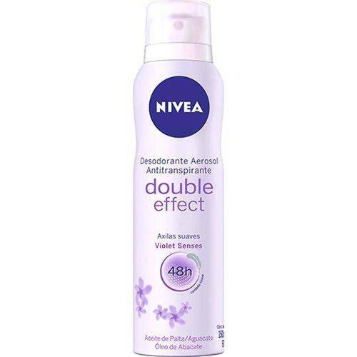 Desodorante Nivea Aerosol Double Effect 150ml
