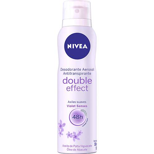 Desodorante Nivea Aerosol Double Effect Violet Senses 150ml