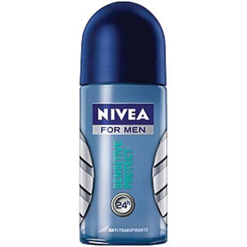 Desodorante Nivea Roll-on Sensitiv For Men 50ml