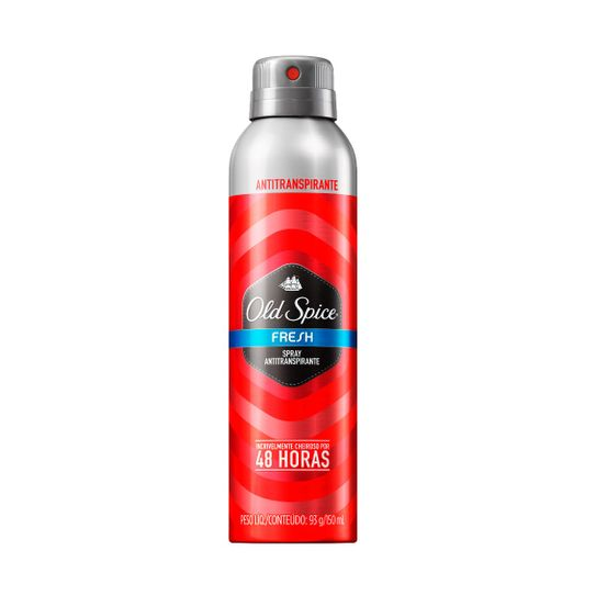 Desodorante Old Spice Fresh Antitranspirante Aerossol 93g