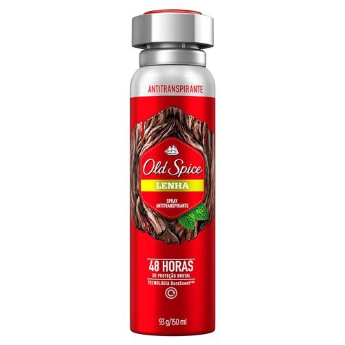 Desodorante Old Spice Lenha Aerosol Antitranspirante 48h 150ml