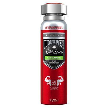 Desodorante Spray Antitranspirante Old Spice Cabra Macho 93g