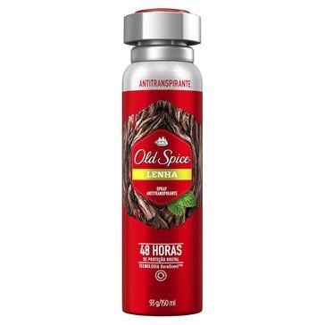 Desodorante Old Spice Spray Lenha 93g