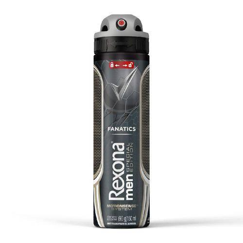 Desodorante Rexona Aerosol Men Fanatics com 150ml