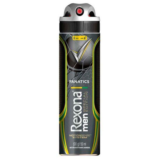 Desodorante Rexona Fanatics Men Aerossol 90g