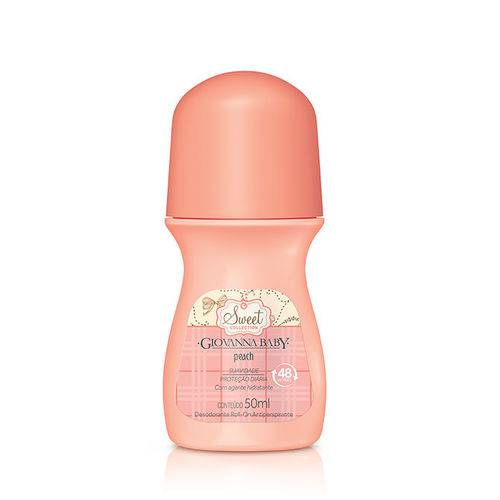 Desodorante Roll-on Giovanna Baby Peach 50ml