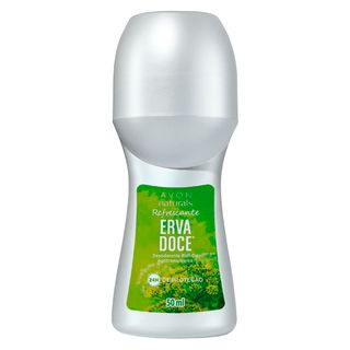 Desodorante Roll-On Naturals Erva Doce - 50 Ml