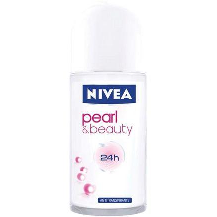 Desodorante Roll-On Nivea Feminino Pearl Beauty 50ml