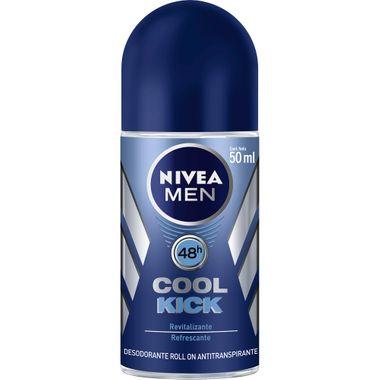 Desodorante Roll On Nivea Men Cool Kick 50ml