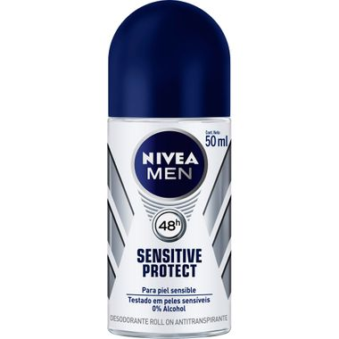 Desodorante Roll On Nivea Men Sensitive Protec 50ml