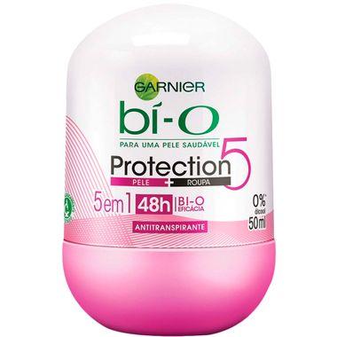 Desodorante Roll On Protection 5 Bi-O Feminino Garnier 50ml
