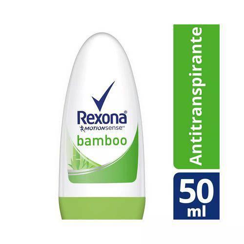 Desodorante Roll On Rexona Bamboo - 50ml