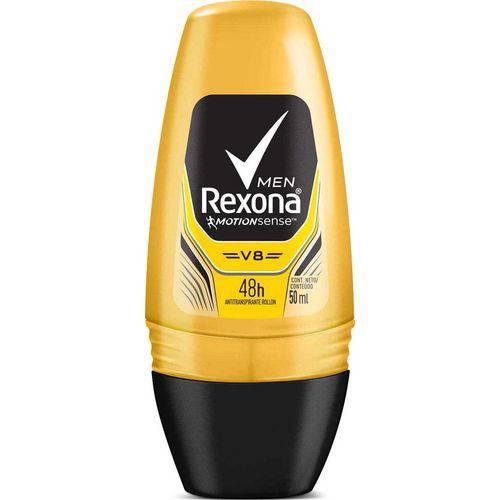 Desodorante Roll On Rexona V8 - 50ml