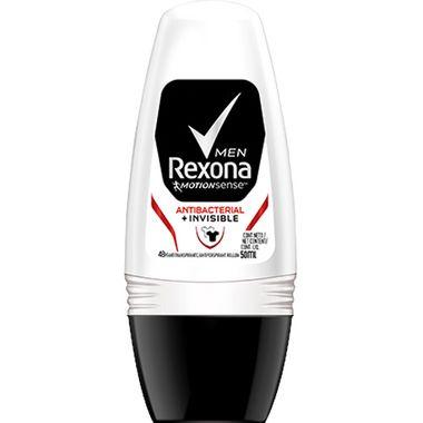 Desodorante Rollon Antibacteriano Men Rexona 50ml