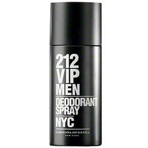 Desodorante Spray 212 Vip Men Carolina Herrera 150ml