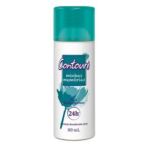 Desodorante Spray Contouré Memórias 80ml