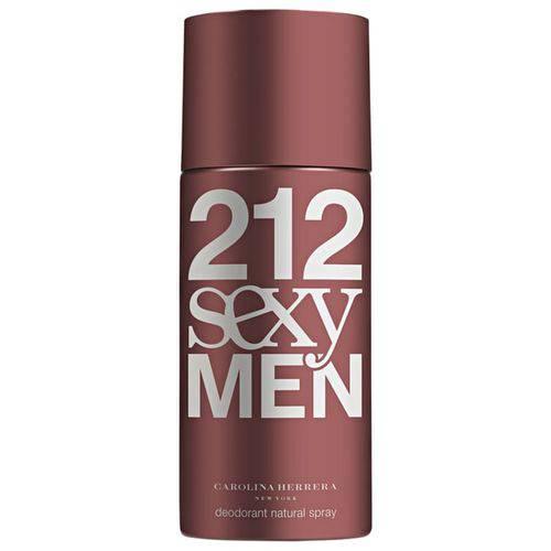 Desodorante Spray Masculino 212 Sexy Men Carolina Herrera 150ml