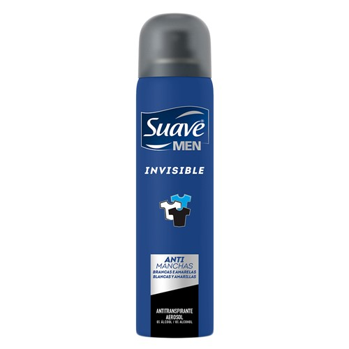 Desodorante Suave Men Invisible Aerosol Antitranspirante 48h 150ml
