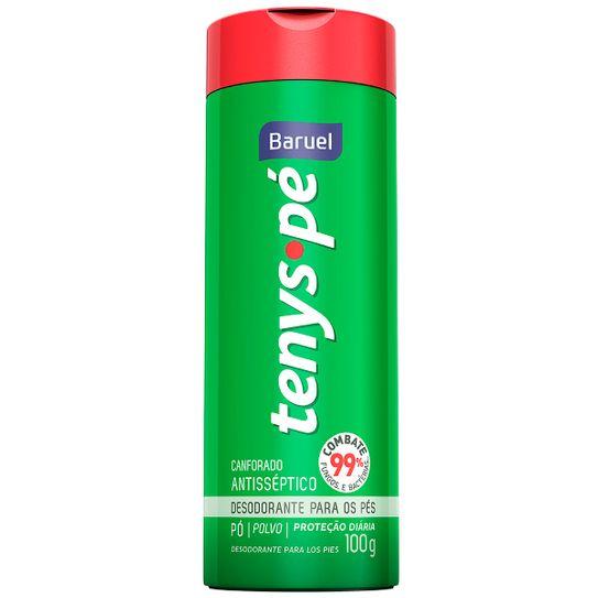 Desodorante Tenys Pé Baruel Canforado Pó 100g