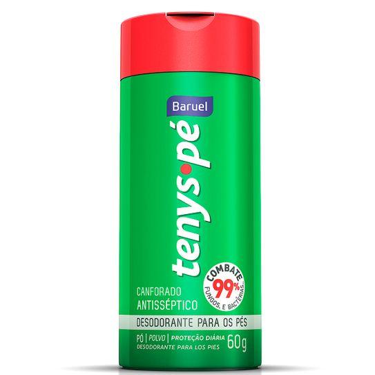 Desodorante Tenys Pé Baruel Canforado Pó 60g