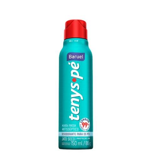 Desodorante Tenys Pé Baruel Menta Fresh Jato Seco 86g