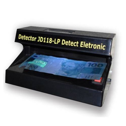Detector de Cedulas Falsas Multi Funcoes Jd-118 Lp Detect Pen Bivolt
