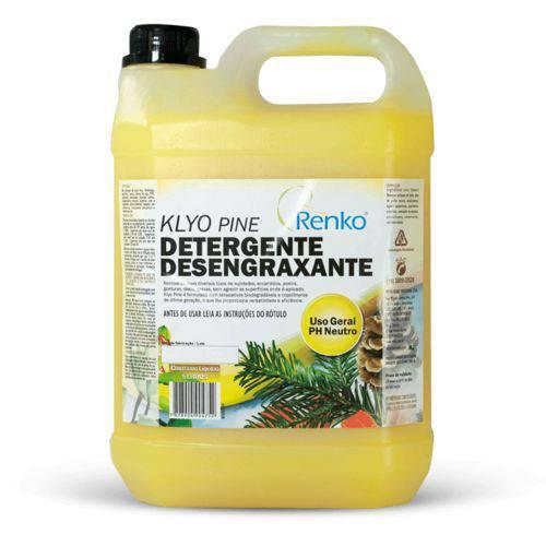 Detergente Desengraxante Klyo Pine 5l Renko