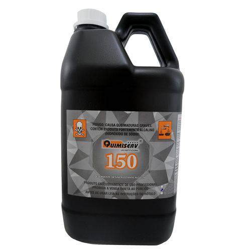 Detergente Desincrustante Alcalino 5L QUIMISERV 150