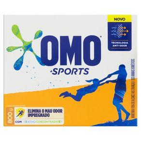 Detergente em Pó Sport Omo 800g