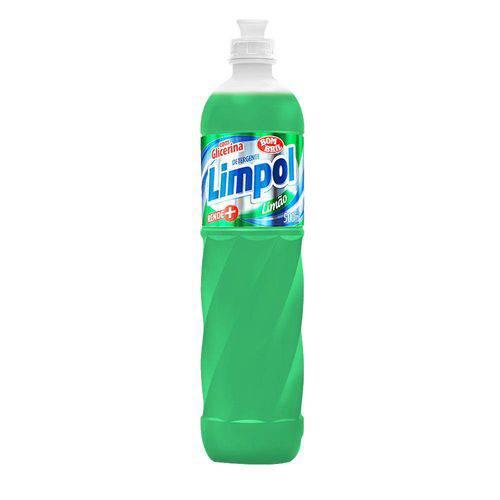 Detergente Limpol Limão 500 Ml