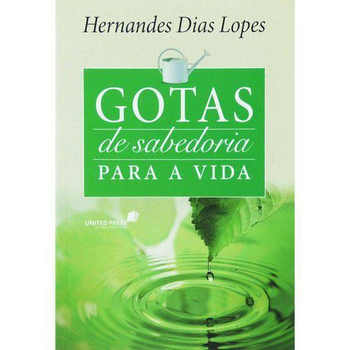 Devocional Gotas de Sabedoria de Sabedoria para a Vida   Hernandes Dias Lopes