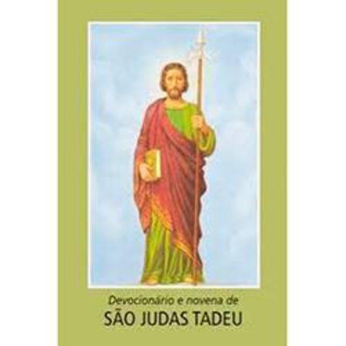 Devocionário e Novena de São Judas Tadeu