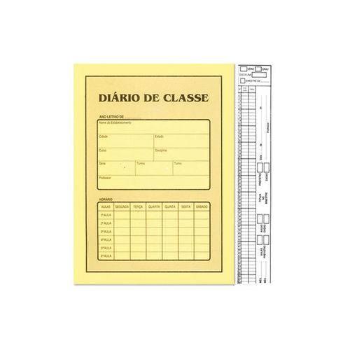 Diario de Classe Bimestral Sao Domingos 8 Folhas 10 Unidades