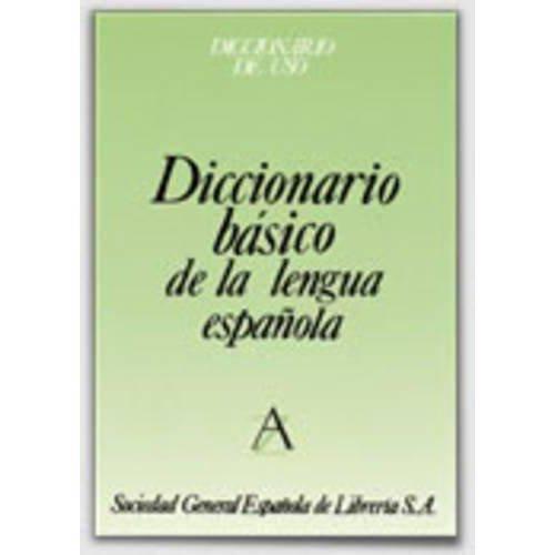 Diccionario Basico de La Lengua Espanola - Tela