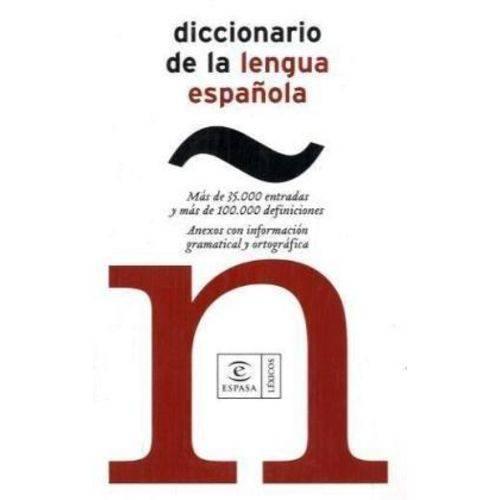 Diccionario de La Lengua Espanola - Bolsillo