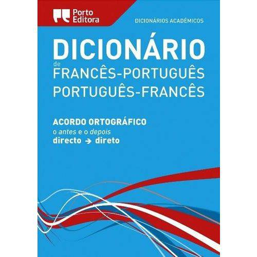 Dicionario Academico de Frances-Portugues